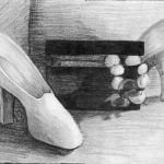 White shoe and Jewelry Box
