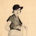 Women With Dark Hat